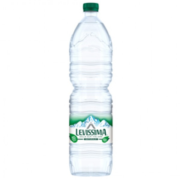 Acqua naturale - PET - bottiglia da 1,5 L - Levissima