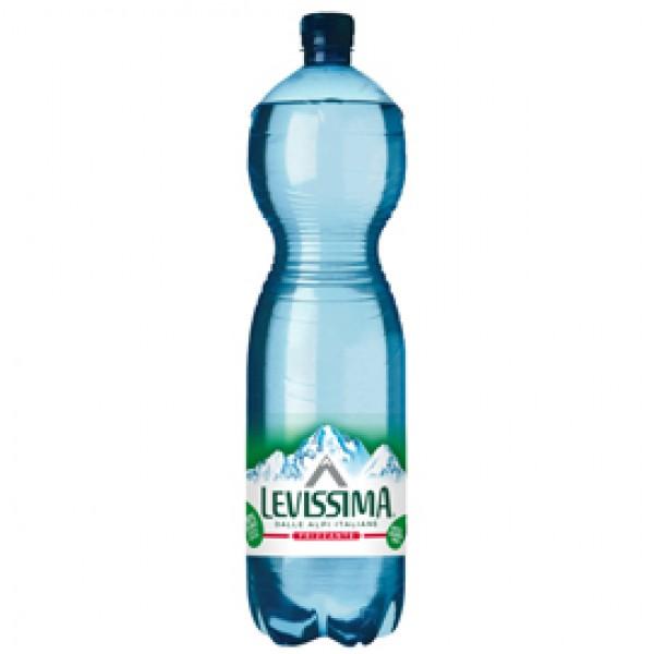 Acqua frizzante - PET - bottiglia da 1,5 L - Levissima