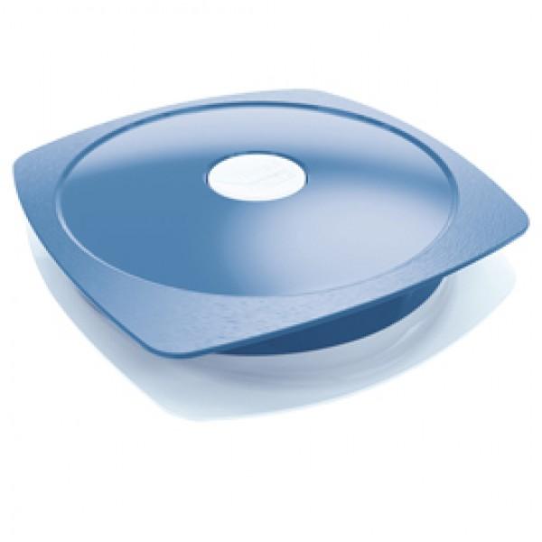Piatto Lunch Box Picnik Adults - con coperchio - blu - Maped