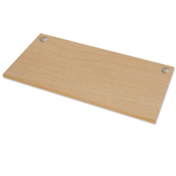 Piano di lavoro per scrivania Cambio - 140x80x2,5 cm - acero - Fellowes