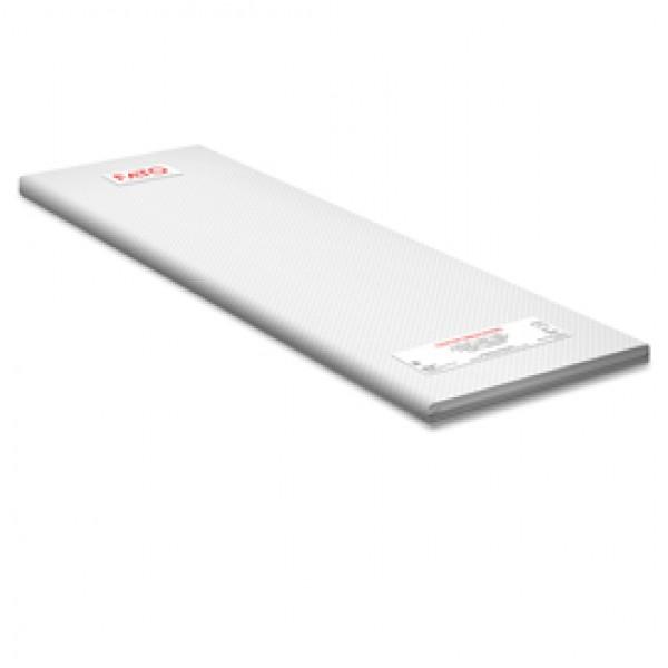 Tovaglia - in fibra riciclata - 100 x 100 cm - bianco - Fato - conf. 100 pezzi