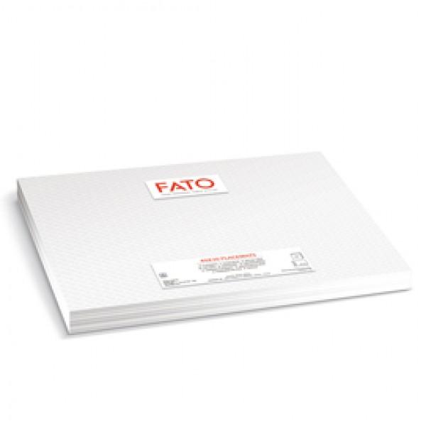 Tovaglietta - in fibra riciclata - 30 x 40 cm - bianco - Fato - conf. 480 pezzi