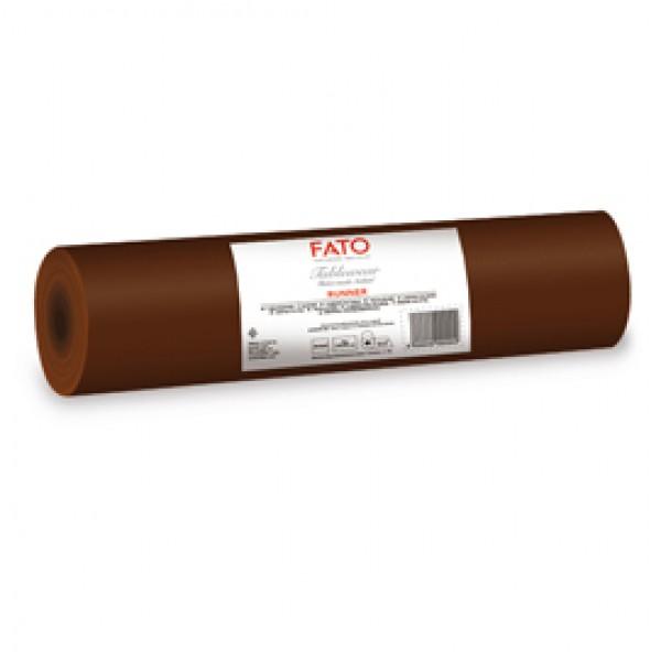 Runner linea AirLaid - 0,40 x 24 mt - cacao - Fato