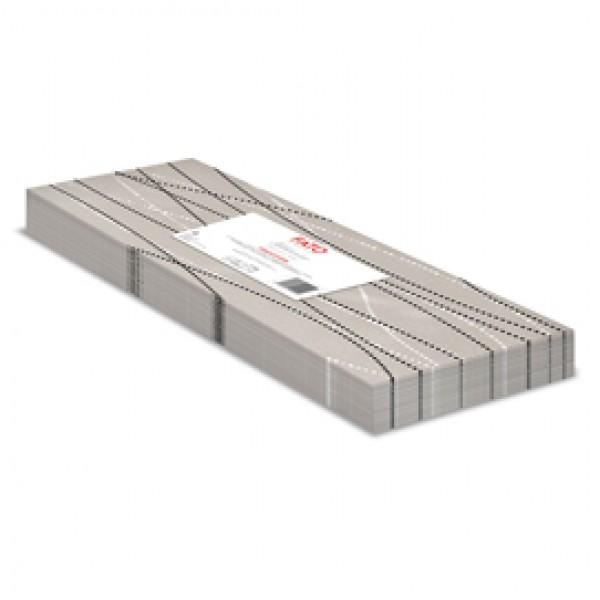 Tovaglie linea Airlaid - 100 x 100 cm - perla / tortora - Fato - conf. 25 pezzi
