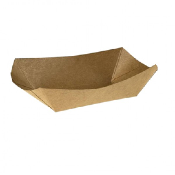 Vaschetta Street Food - per fritti - 19,5 x 16,5 x 5,5 cm - Leone - conf. 125 pezzi