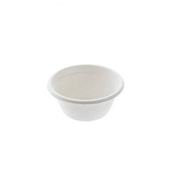 Ciotole per salse con coperchio bio - 59 ml - Leone - conf. 50 pezzi