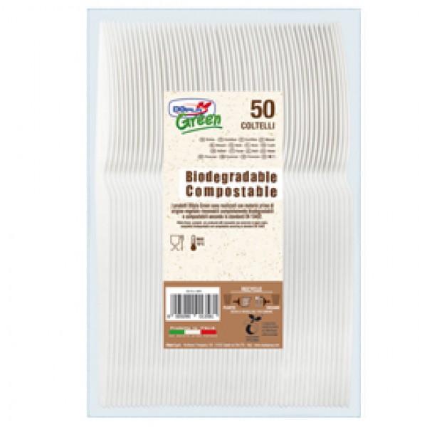 Coltelli in Estabio - avorio - Dopla Green - conf. 50 pezzi
