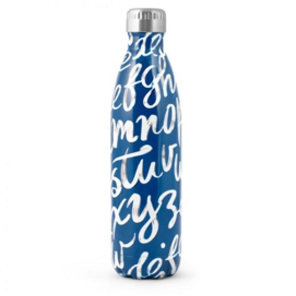 Bottiglia termica - 0,75 L - blu