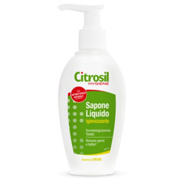 Sapone liquido antibatterico - agrumi - 250 ml - Citrosil