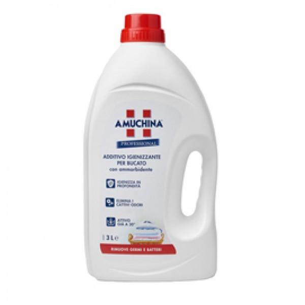 Additivo bucato igienizzante liquido - 3 L - Amuchina Professional