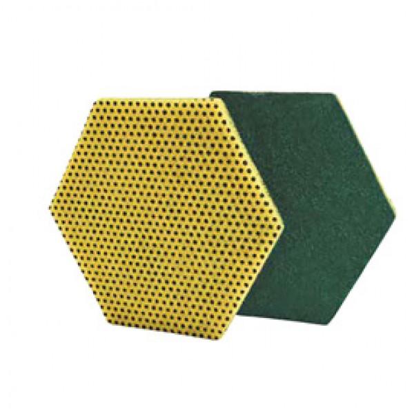 Spugne in fibra 96Hex - doppia funzione - Scotch-Brite - conf. 15 pezzi