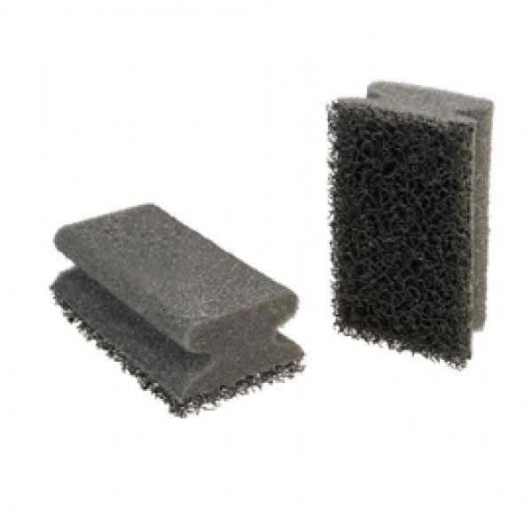 Spugne abrasive - nero - Scotch-Brite - conf. 6 pezzi