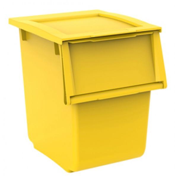 Contenitore Ecobin 25 - 25 L - giallo - Terry