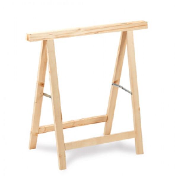 Cavalletto in legno - 74 x 38 x 75 cm - Garden Friend