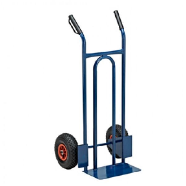 Carrello trasporto universale - con ruota pneumatica - portata max 200 kg - Garden Friend