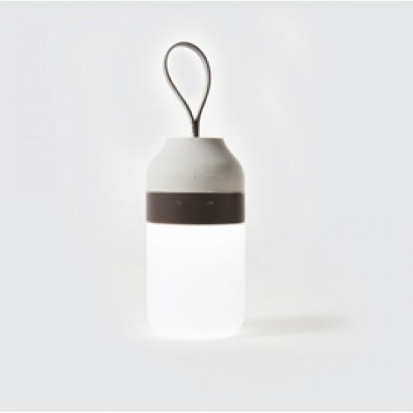 Speaker wireless 2 in 1 - waterproof - luce LED bianca - POUT