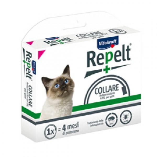 Collare antiparassitario per gatti (con peso superiore a 1 kg) - Repelt