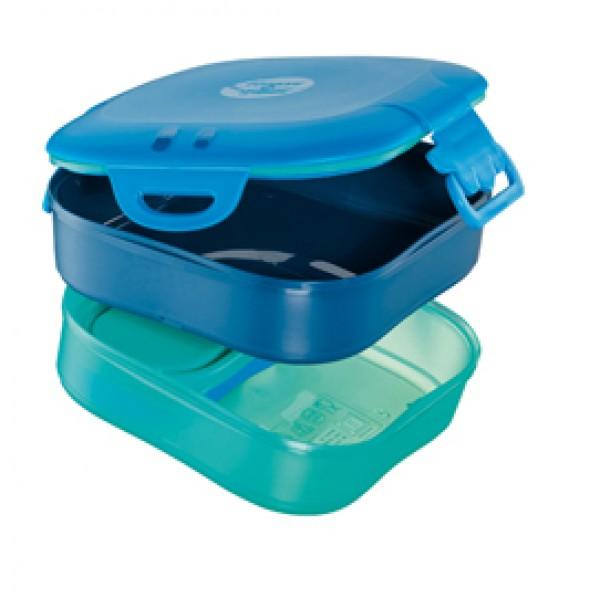 Lunch box 3 in 1 Picnik Concept - blu - Maped