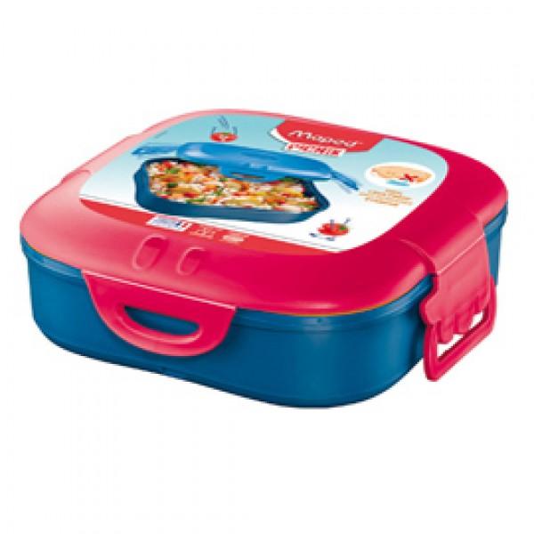 Lunch box Picnick Concept - 1 scompartimento - rosa corallo - Maped