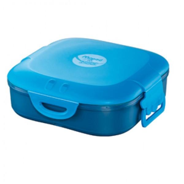 Lunch box Picnick Concept - 1 scompartimento - blu - Maped