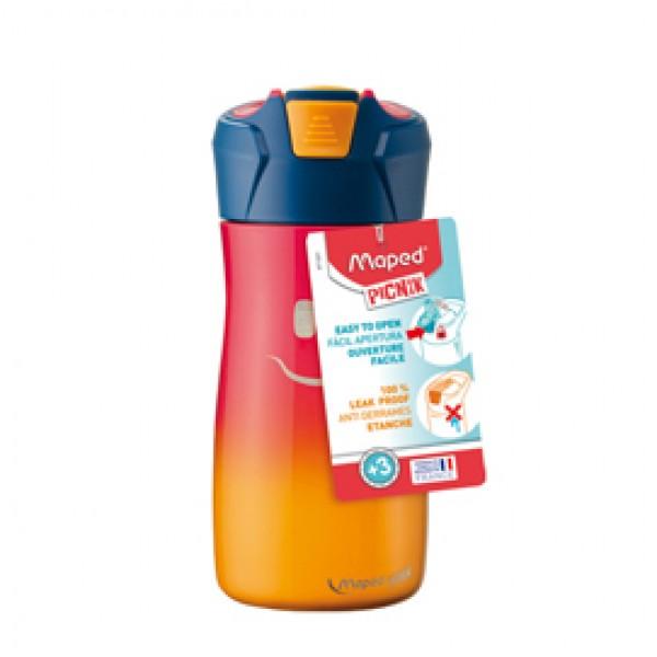 Borraccia Picnik Concept - acciaio inox - 430 ml - rosa corallo - Maped