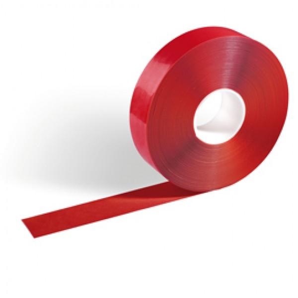 Nastro adesivo da pavimento Duraline® Strong 50/50 - 50 mm x 30 mt - rosso - Durable