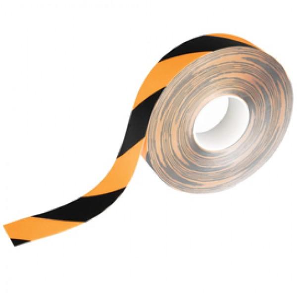 Nastro adesivo da terra per segnalazioni - rimovibile - 50 mm x 15 mt - giallo - Durable