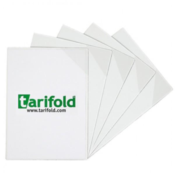 Tasche a L con retro magnetico - A4 - trasparente - Tarifold - conf. 5 pezzi