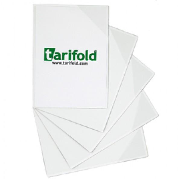 Tasca a L con retro magnetico - A3 - trasparente - Tarifold