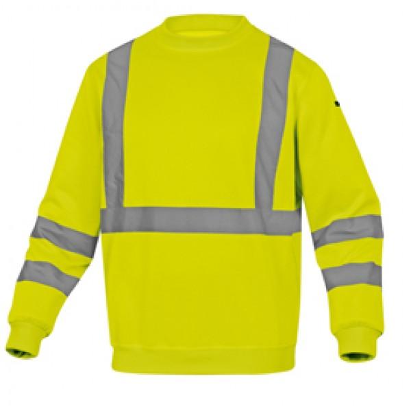 Felpa sportiva Astral - alta visibilità - tg. XL - giallo fluo - Deltaplus