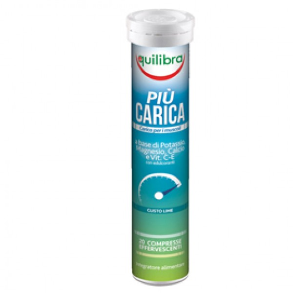 Integratore Più Carica - gusto lime - 20 compresse (90 gr cad.) - Equilibra