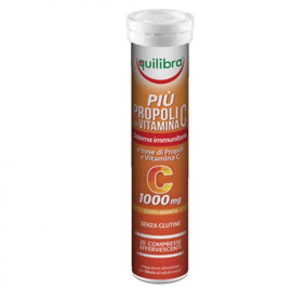 Integratore Più Propoli con vitamina C - gusto arancia - 20 compresse (88 gr cad.) - Equilibra
