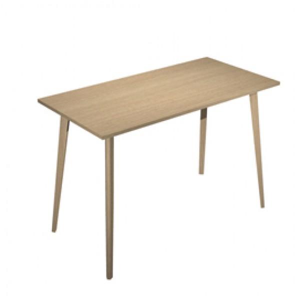 Tavolo alto Woody - 160 x 80 x H 105 cm - rovere - Artexport