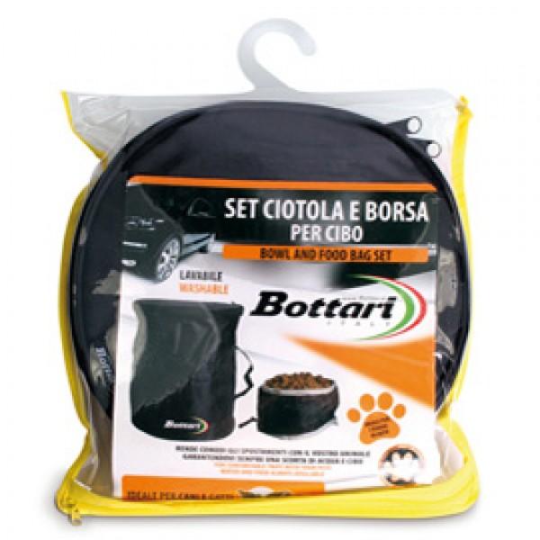 Set ciotola + borsa per cibo - Bottari