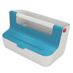 Cassetta portaoggetti con maniglia Cosy - blu - Leitz