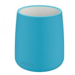 Porta penne Cosy - in ceramica - blu - Leitz