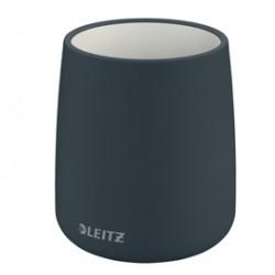Porta penne Cosy - in ceramica - grigio - Leitz