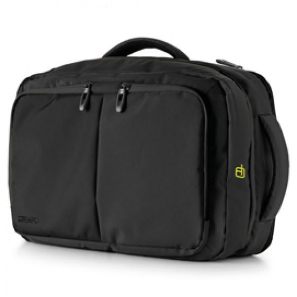 Borsa zainabile bi-bag Blackout - 44 x 28 x 18 cm - nero - InTempo