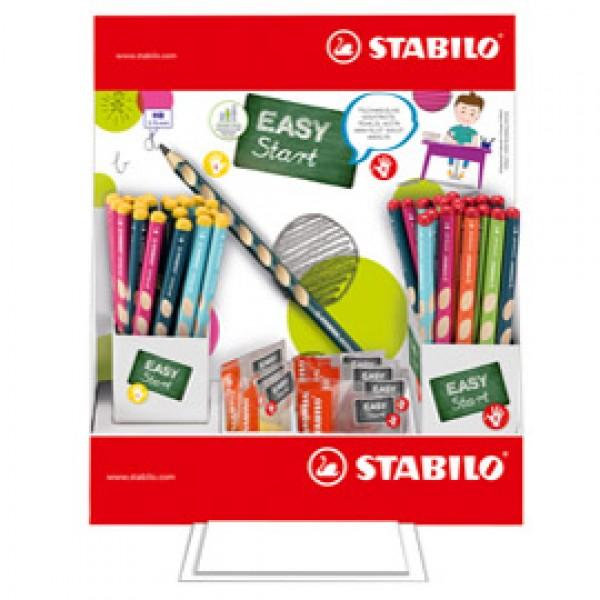 Matita HB Easygraph + temperini - Stabilo - expo 72 + 12 pezzi
