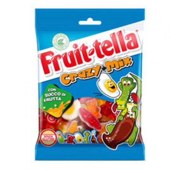Caramella gommosa - crazy mix - 175 gr - Fruit-Tella