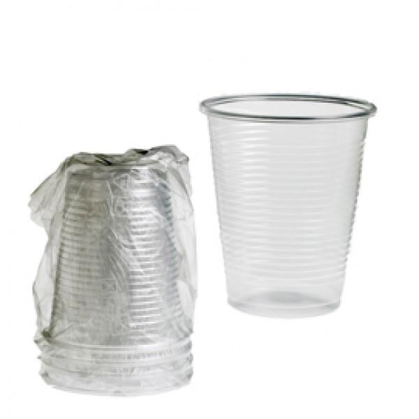 Bicchieri - PLA - 200 ml - trasparente - Leone - conf. 400 pezzi