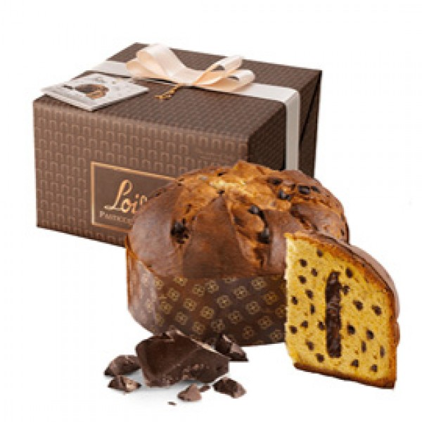 Panettone Regal Cioccolato Linea Top Genesi - 600 g - Loison