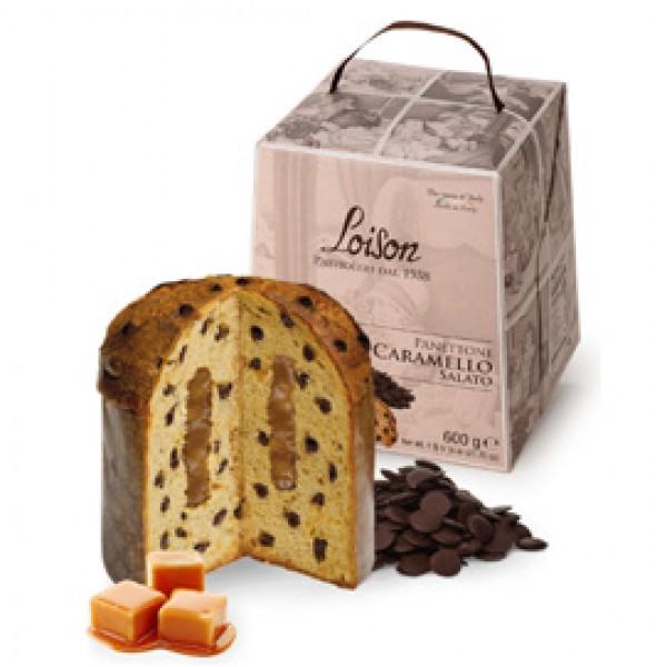 Panettone Caramello Salato - 600 gr - Loison