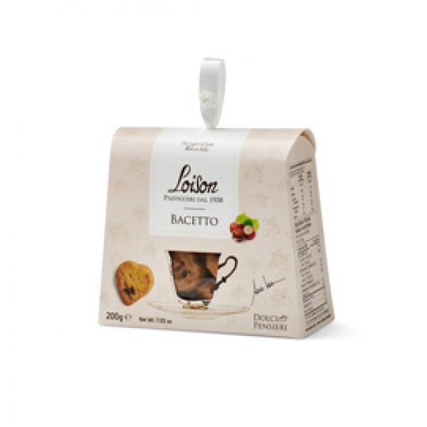 Biscotti al burro Bacetto - 200 gr - Loison