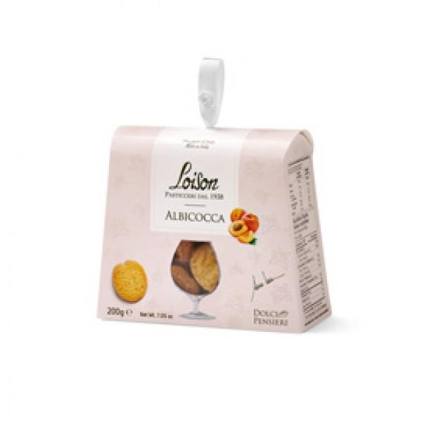 Biscotti al burro Albicocca - 200 gr - Loison