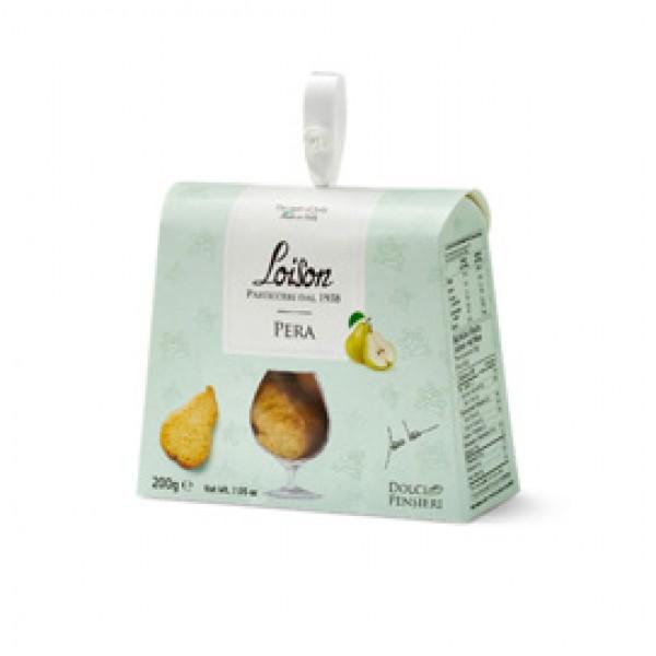 Biscotti al burro Pera - 200 gr - Loison