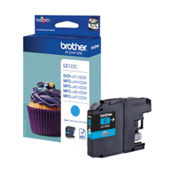 Originale Brother LC-123C Cartuccia inkjet LC-123 ciano - LC-123C