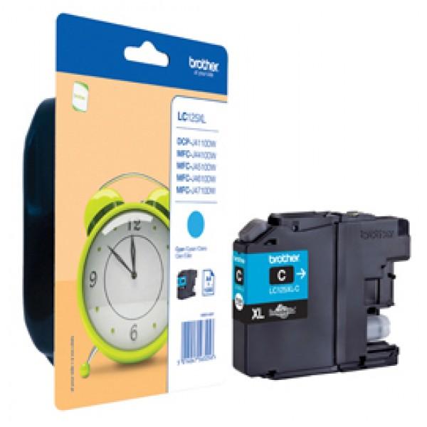 Originale Brother LC-125XLC Cartuccia inkjet alta resa LC-125 ciano - LC-125XLC