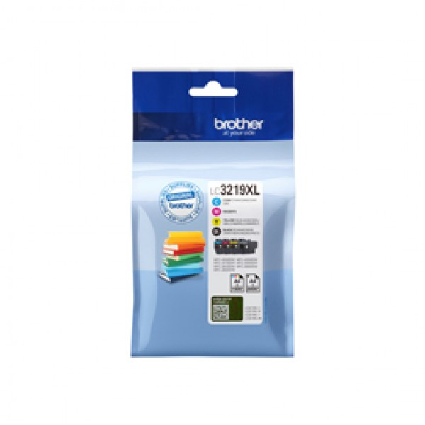 Originale Brother inkjet LC-3219XLVAL cartucce n+c+m+g - LC3219XLVAL