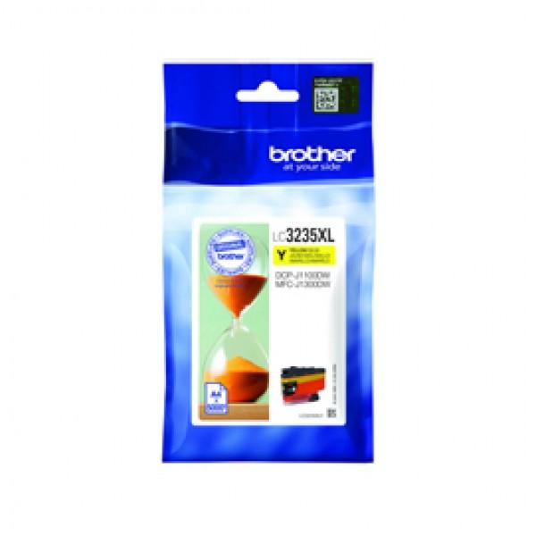 CARTUCCIA GIALLO BROTHER PER DCPJ1100DW MFCJ1300DW 5.000PAG - LC3235XLY